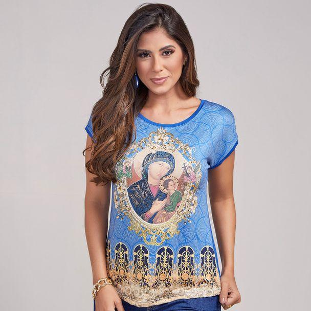 6068ac7ef0 Blusa Nossa Senhora do Perpétuo Socorro FS2963 - Agape Moda
