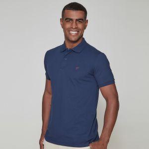 camiseta-masculina-gola-polo-frates-azul-profundo-frente