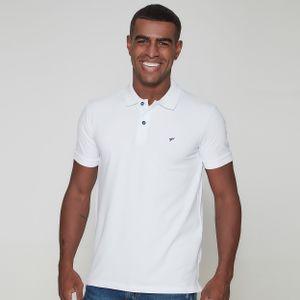 camiseta-masculina-gola-polo-frates-branca-perfeita-frente