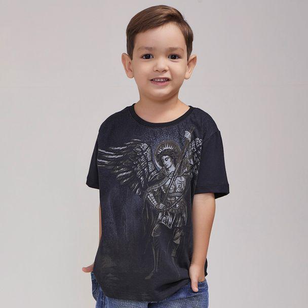 camiseta-infantil-sao-miguel-preto-frente