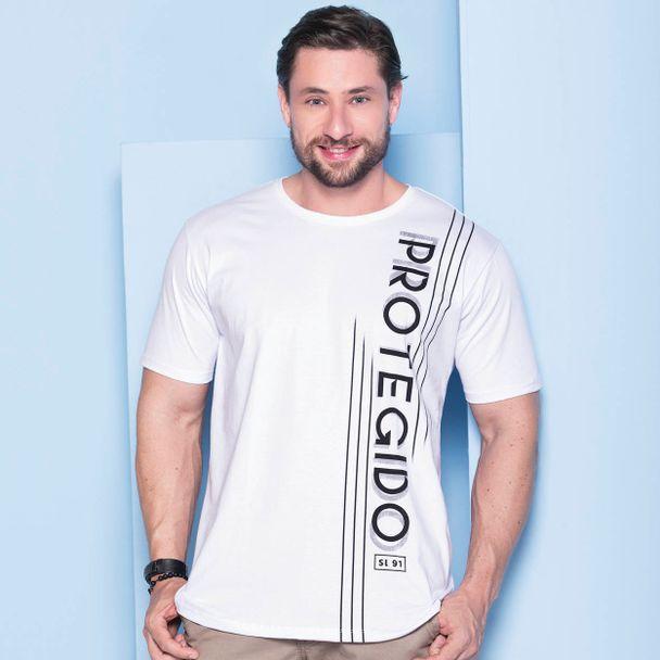 camiseta-protegido-branco-frente