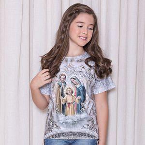 camiseta-infantil-sagrada-familia-feminnino-frente