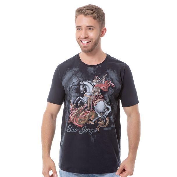 camiseta-sao-jorge-preto-frente