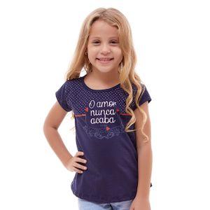 blusa-infantil-o-amor-nunca-acaba-frente