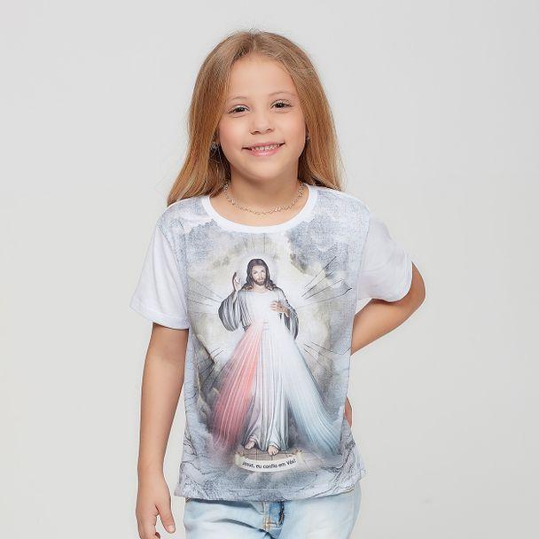 camiseta-infantil-jesus-misericordioso-feminina-frente