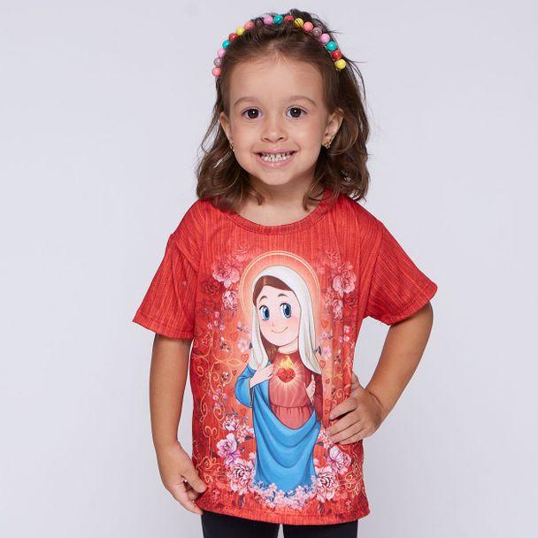 camiseta-infantil-imaculado-coracao-de-maria-frente1