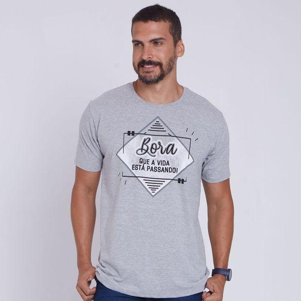 camiseta-bora-que-a-vida-ta-passando-cinza-mescla-frente