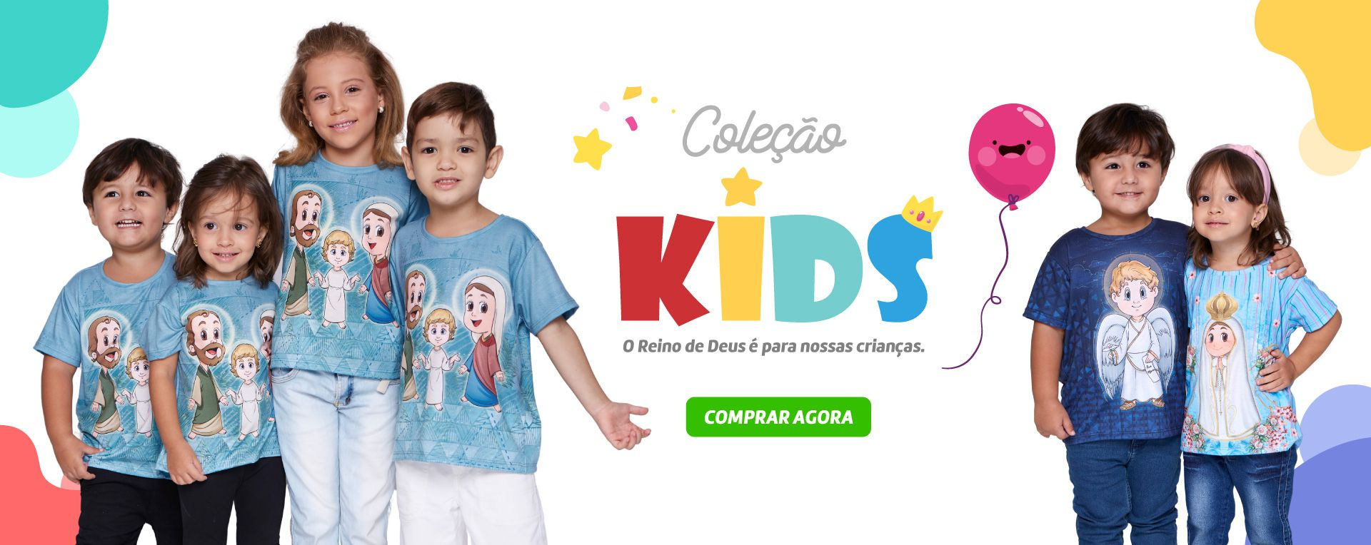 Abril - Banner Kids