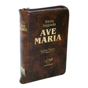 biblia-sagrada-ave-maria-letra-maior-capa-ziper-marrom