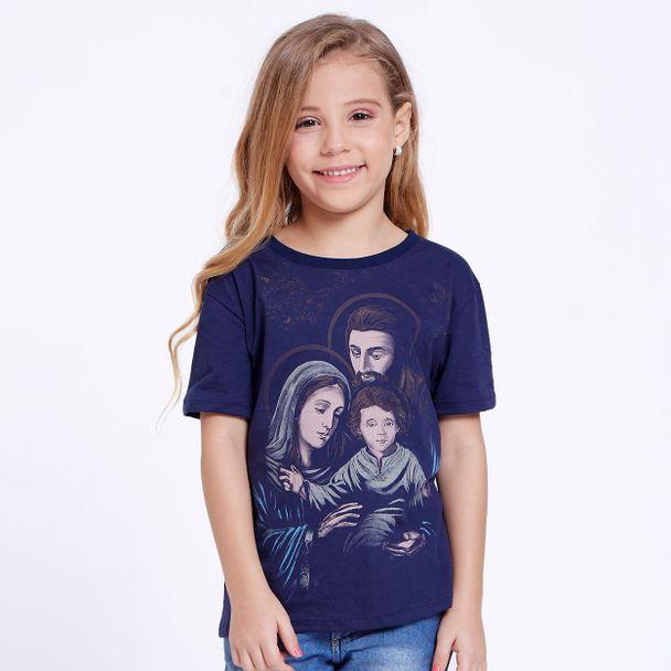 blusa-infantil-sagrada-familia-menina-azul-marinho-frente