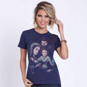 baby-look-sagrada-familia-azul-marinho-frente