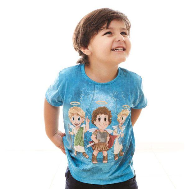 camiseta-infantil-os-tres-arcanjinhos-frente