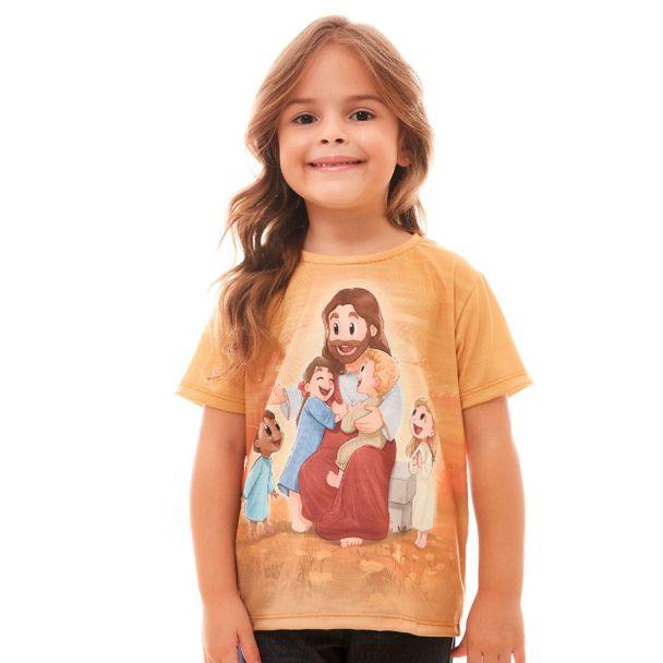 camiseta-infantil-vinde-a-mim-as-criancinhas-frente