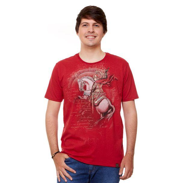 camiseta-masculina-sao-jorge-vermelho-frente
