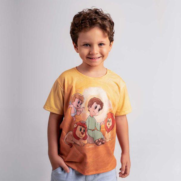 Camiseta-Infantil-Daniel-na-Cova-dos-leoes-frente