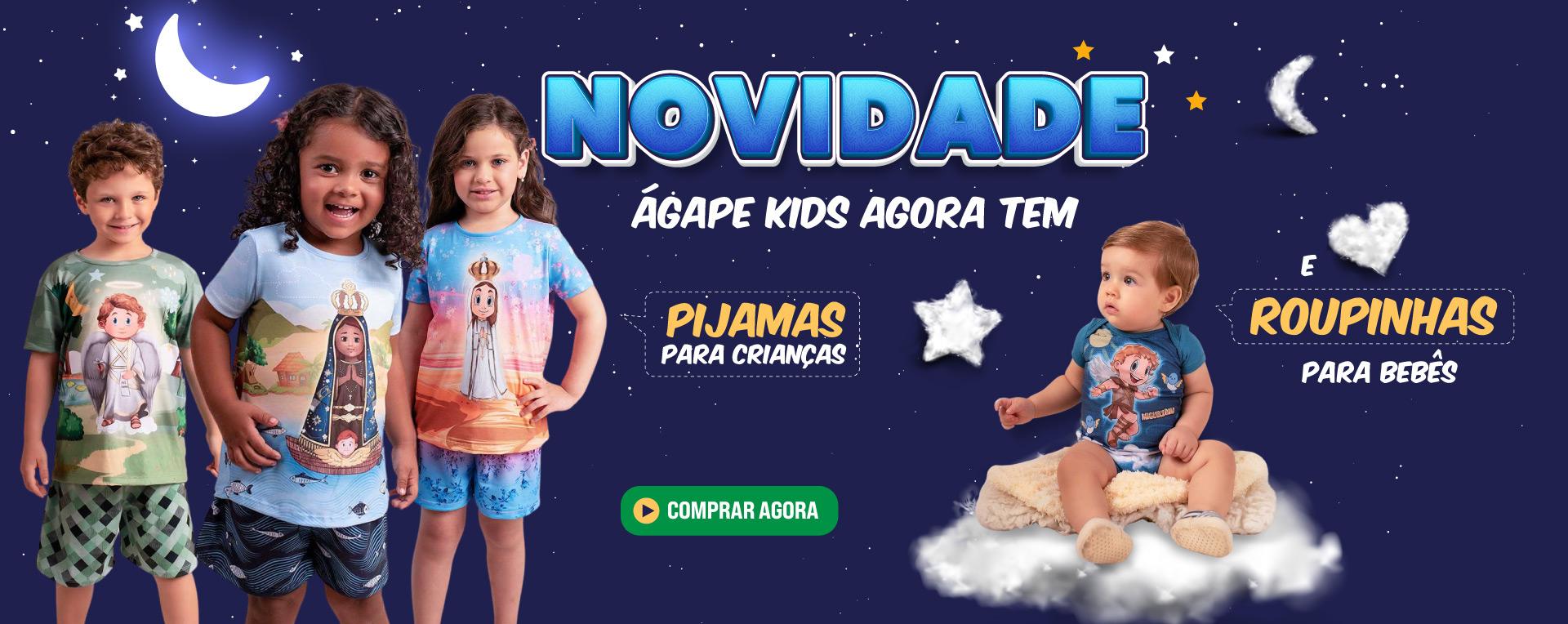 Lançamento Pijama e Body