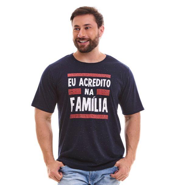 camiseta-eu-acredito-na-familia-azul-marinho-frente