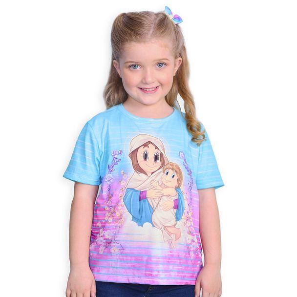 camiseta-infantil-mae-rainha-frente