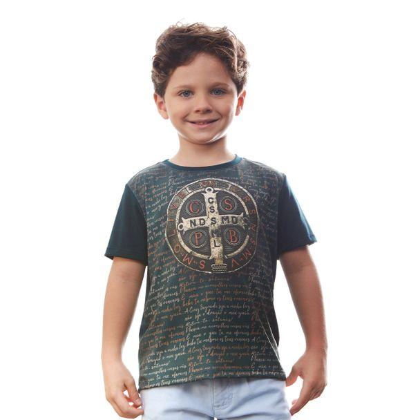 camiseta-infantil-medalha-de-sao-bento-frente