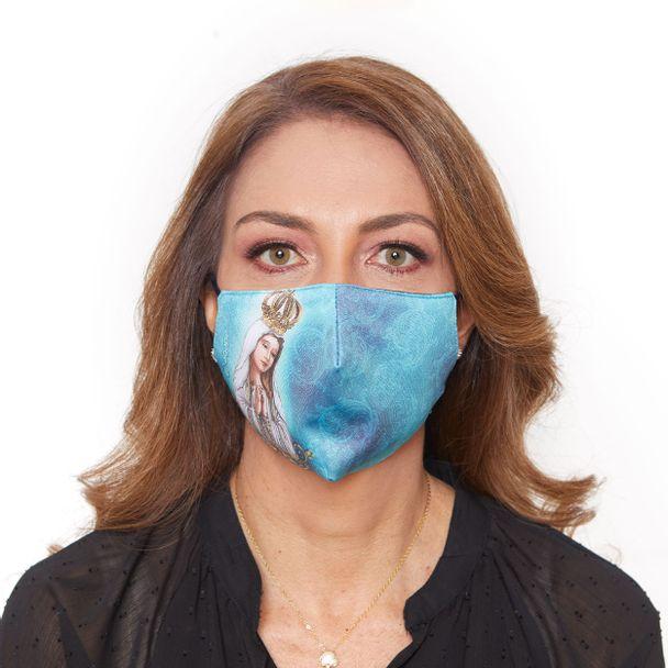 Máscara Nossa Senhora de Fátima MDA950...