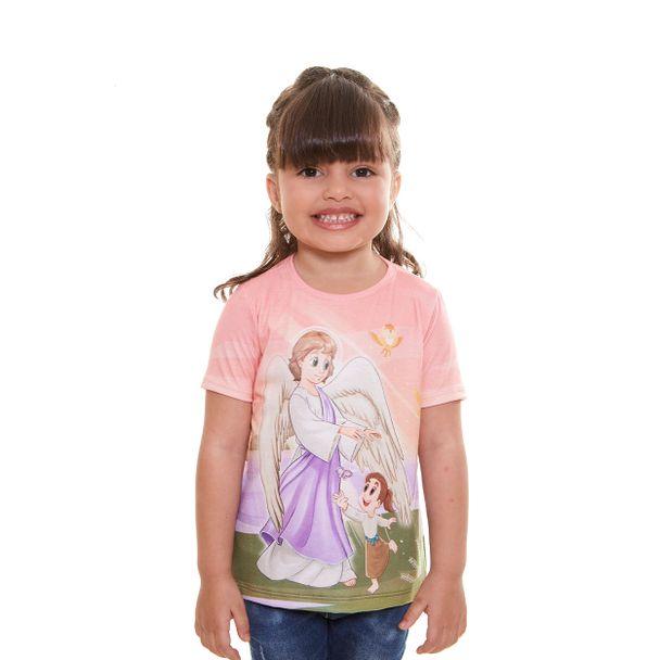 Camiseta infantil Anjo da Guarda AK954...