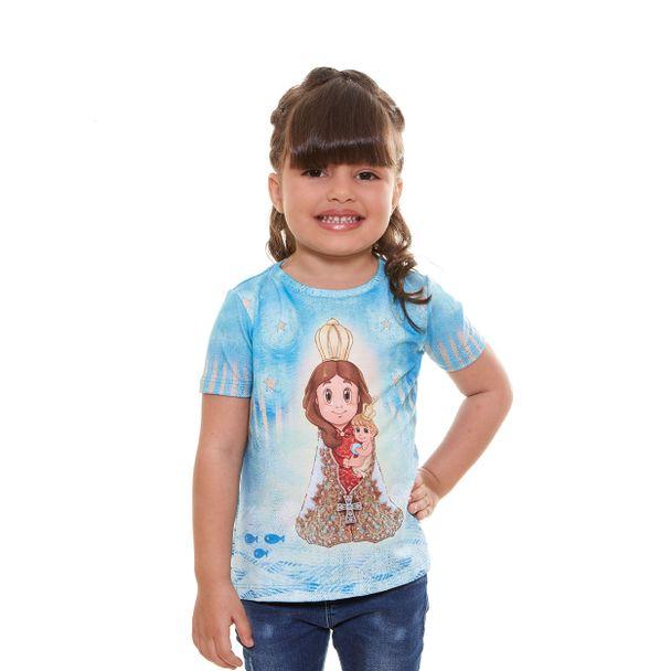 Camiseta infantil Nazinha AK9596 ESTAM...