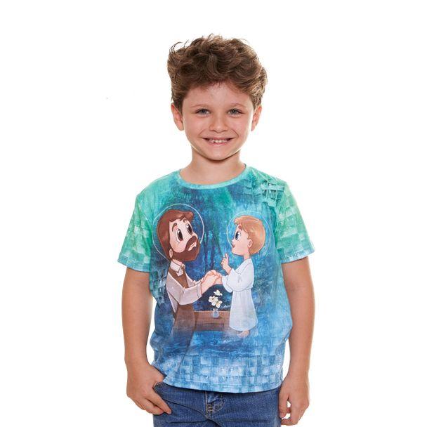 Camiseta infantil São Josezinho AK9543...