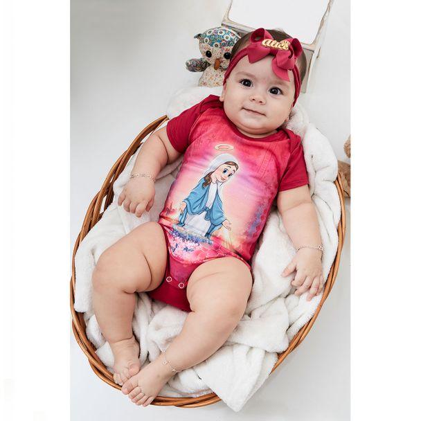Body Bebê Gracinha BB9565 ROSA RN