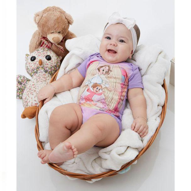 Body Bebê Anjo da Guarda  BB9624 LAVAN...